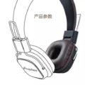 Remax HIFI Headphone Anywhere หูฟังแบบครอบหู รุ่น RM-100H